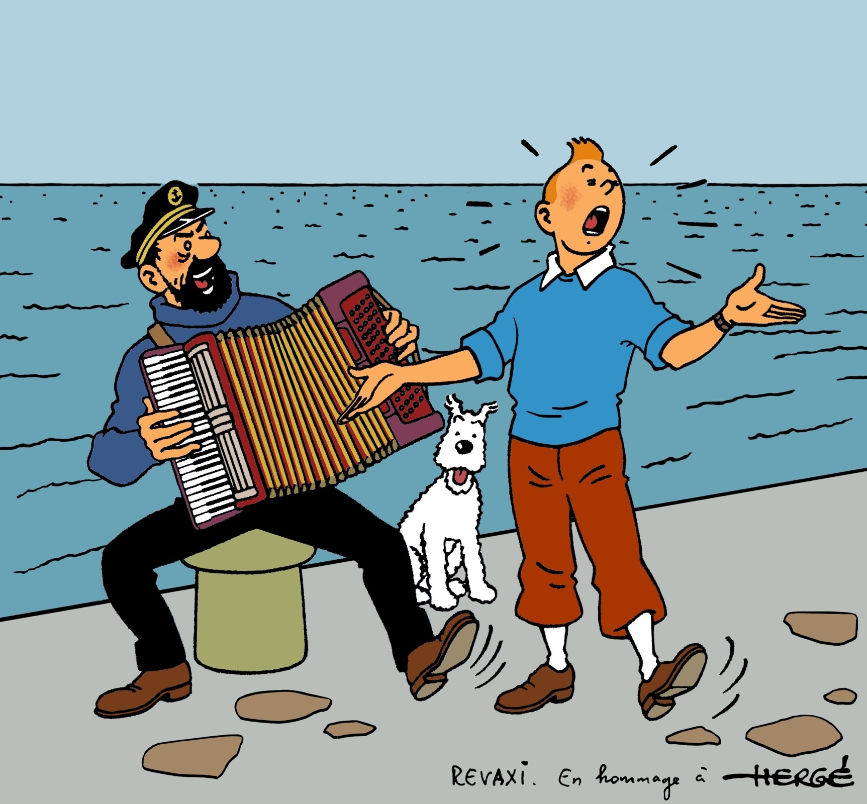Sacrebleu calling all fans of tintin the little reporter - Image de tintin et milou ...