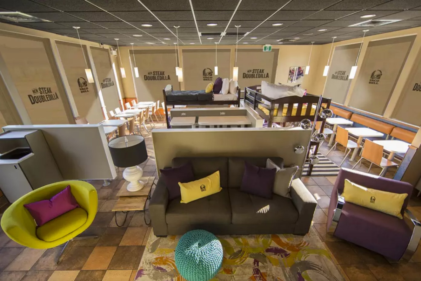 Spend the night at a Taco Bell for a Steakcation