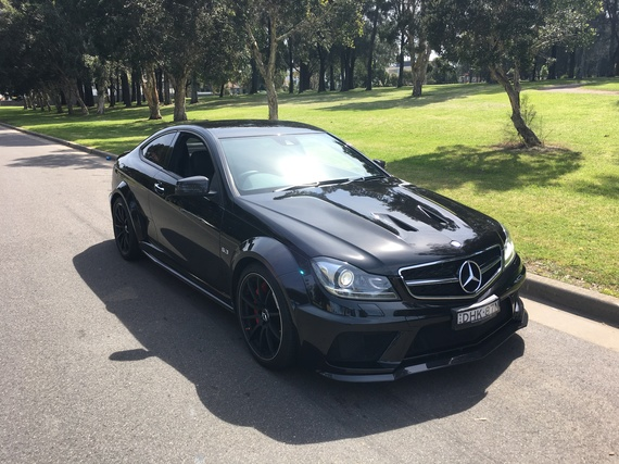 An End To An Era With The Mercedes Amg C63 Black Series