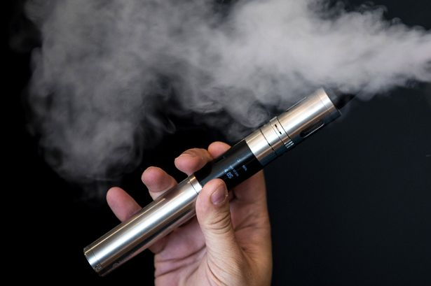 Electronic cigarette at stores