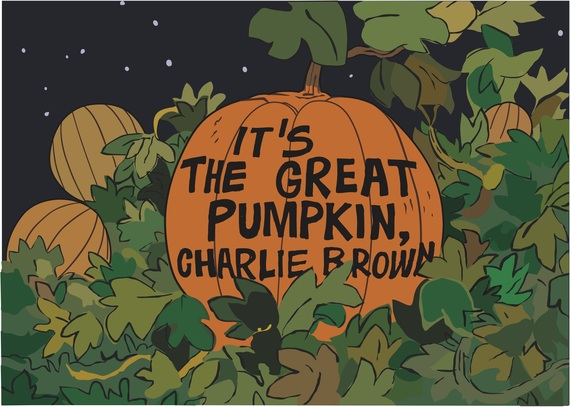 its the 50th anniversary of the great pumpkin charlie brown huffpost