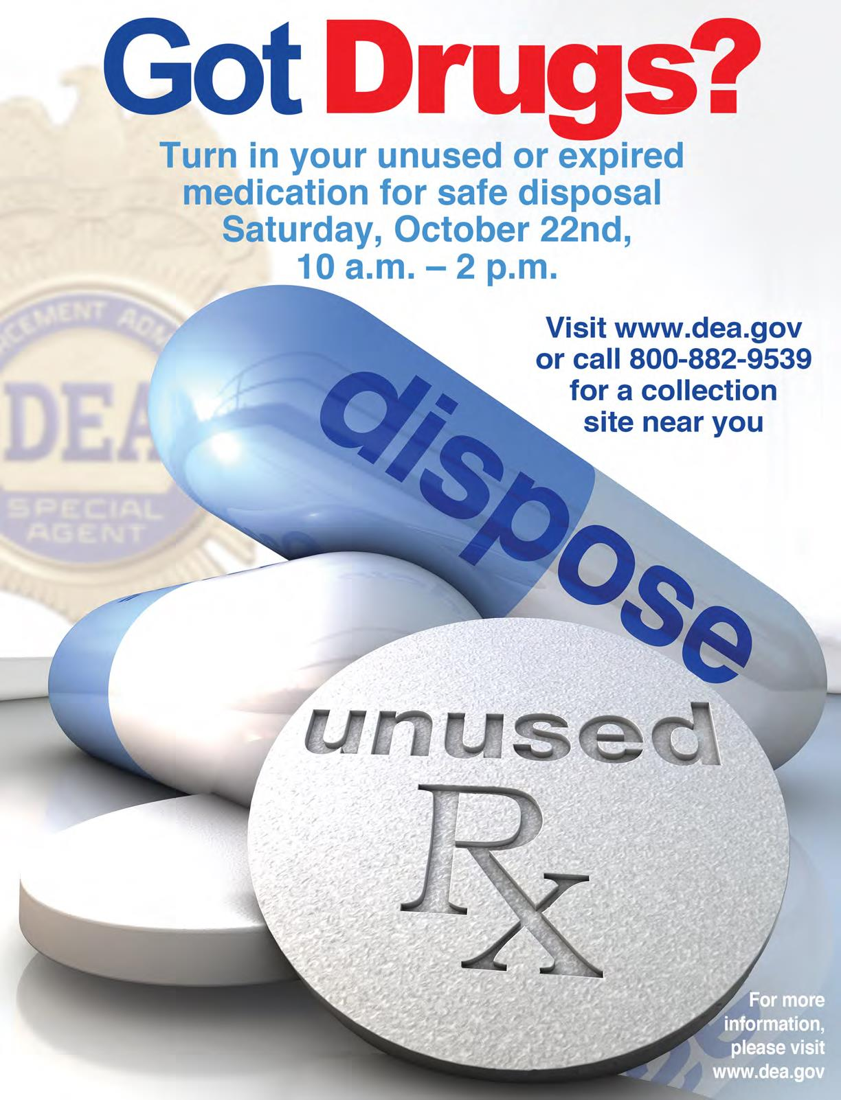 Turn That Unused Room Of The House Into This: Prevent Opioid Abuse: Turn In Unused Medications