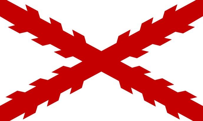 Resultado de imagen de cruz de borgoña