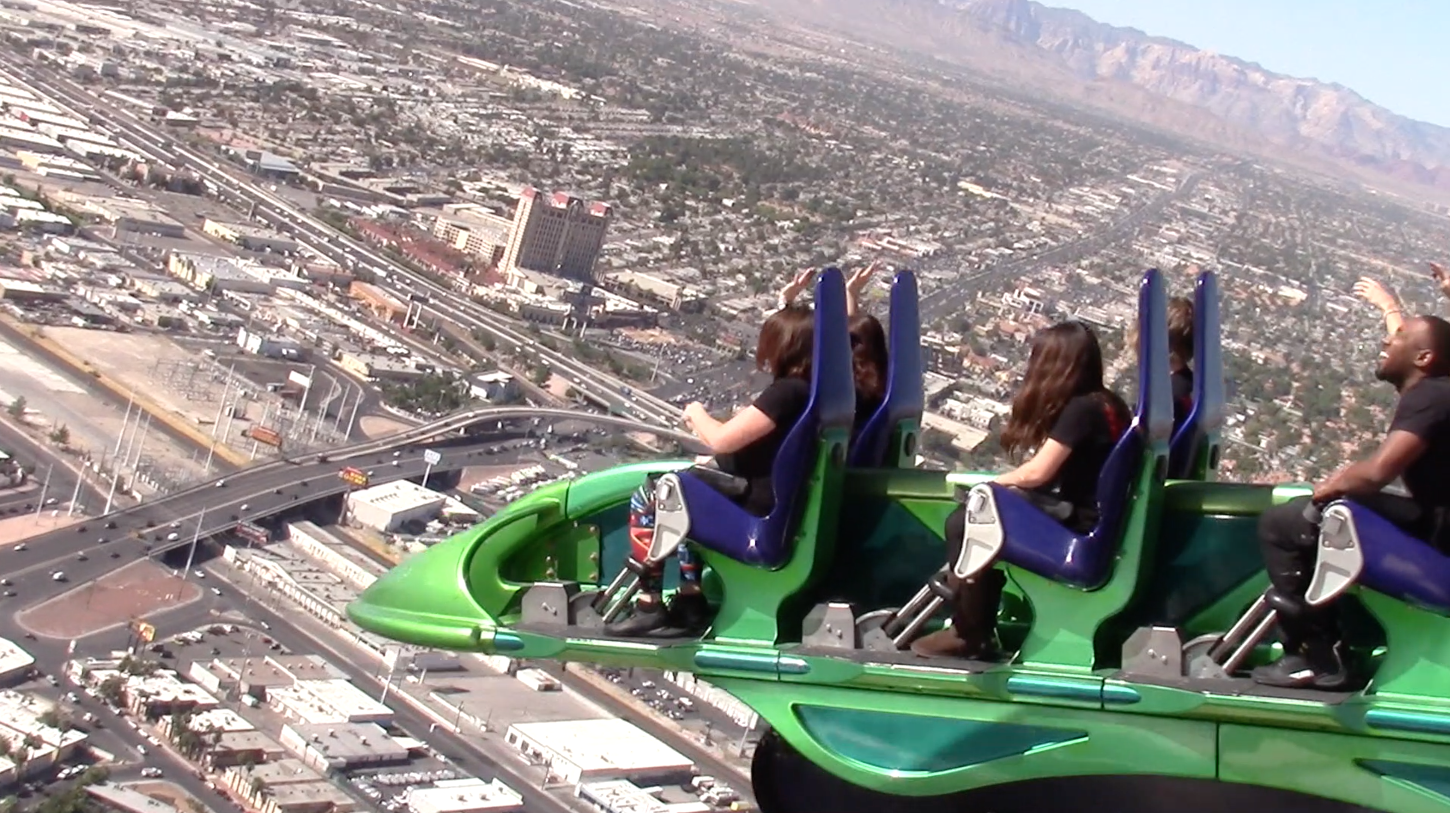 The Stratosphere Hotel Worlds Scariest Thrill Rides Huffpost Life