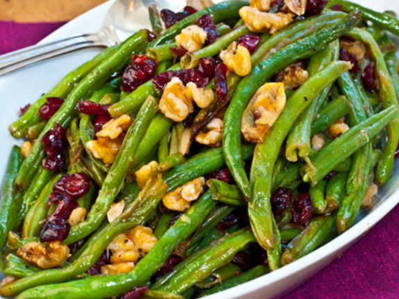 Roasted green beans are tender, caramelized and full of flavor ...