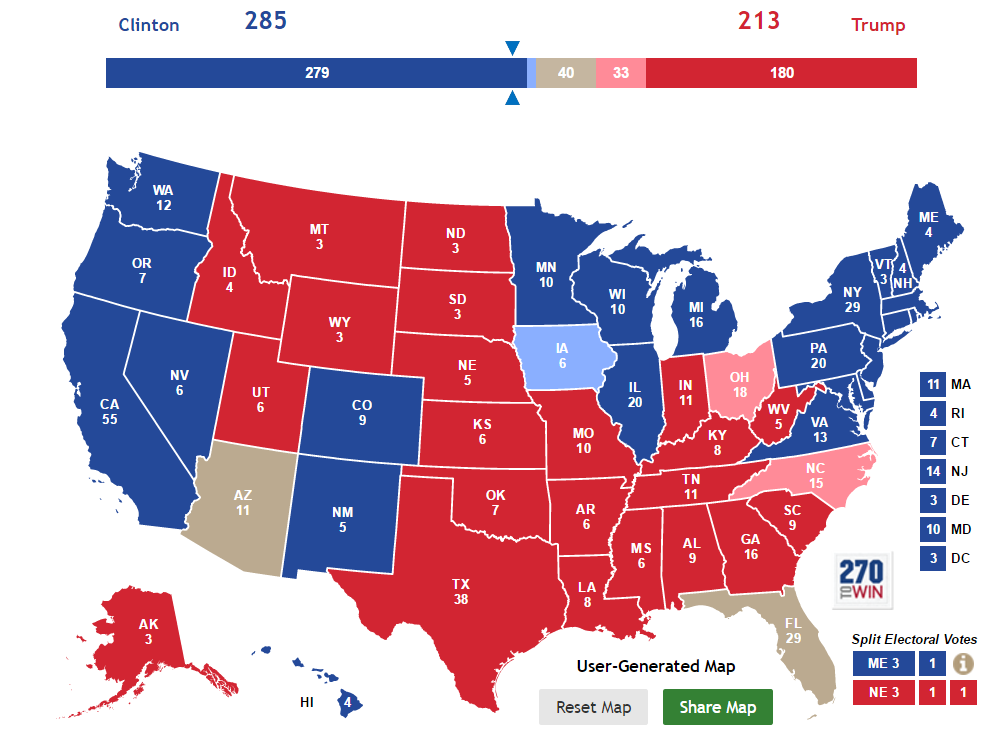 Us Election County Map Globalinterco - Us senate projection map