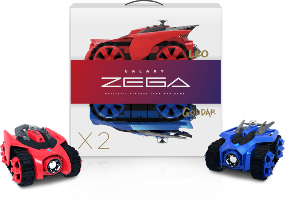 Galaxy Zega Review, A Real Life Tank Battle Game Invades Your Living ...