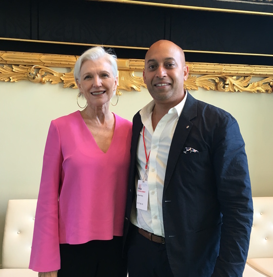 In Dialogue with Maye Musk | HuffPost