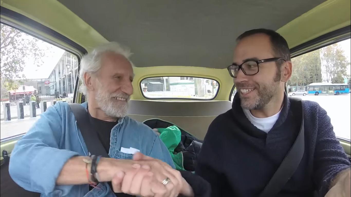 """Pepín Tré recuerda a Javier Krahe: """"Le conocí haciendo submarinismo, era un tío muy deportista"""""""
