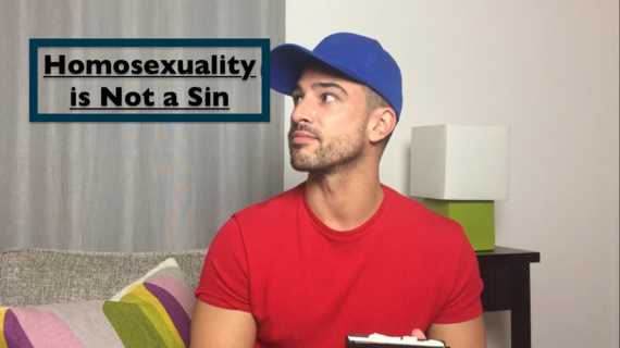 How to explain homosexuality is not a sin