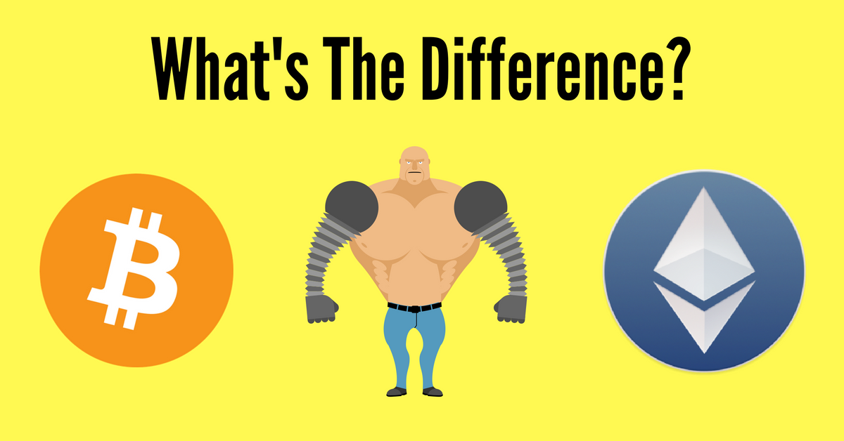 ethereum vs bitcoin what s the main difference huffpost