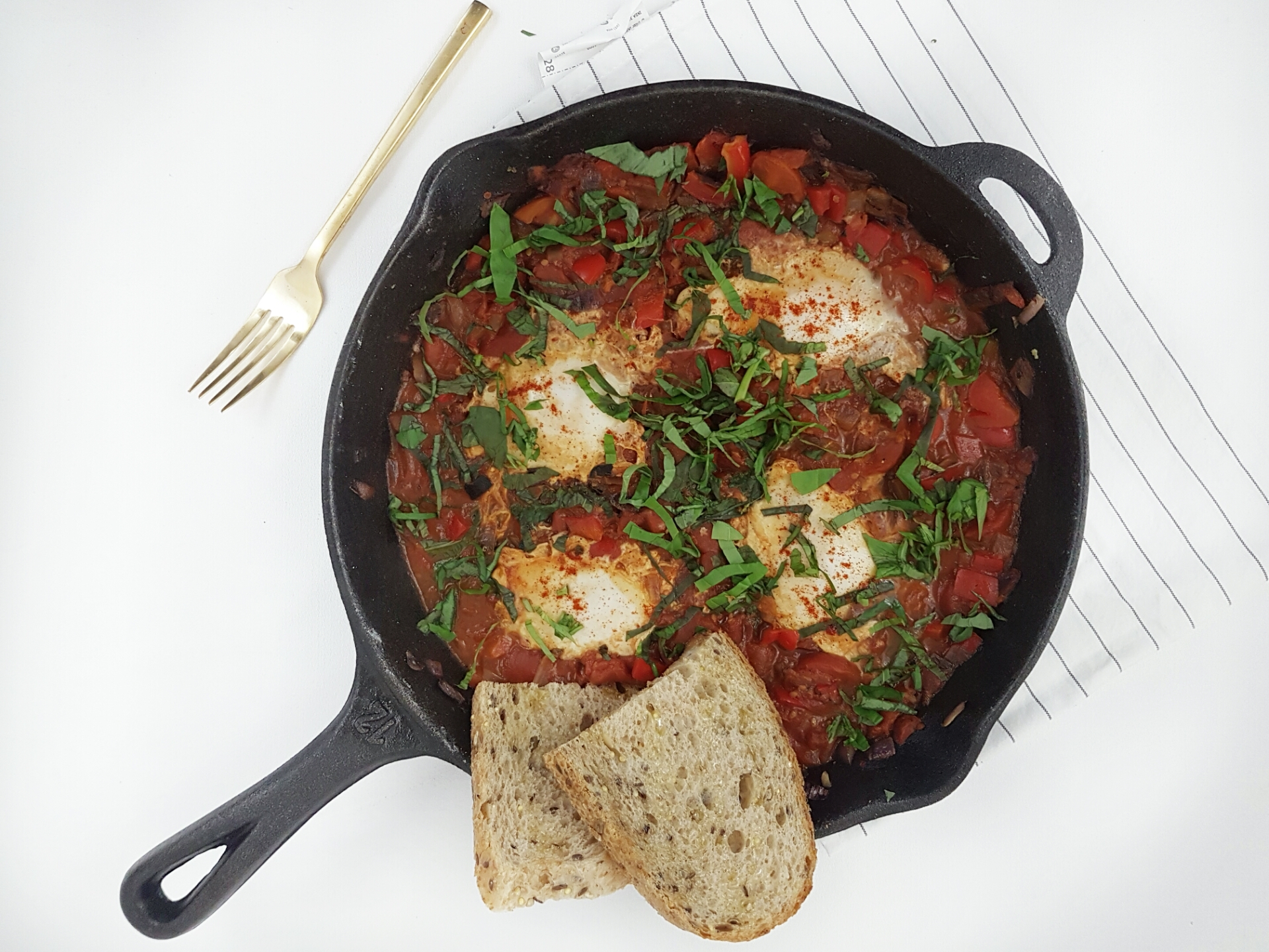 Perfect For Holiday Brunch: Shakshuka (A.K.A. Eggs In Purgatory)