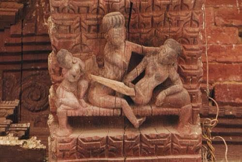 Collection of erotic temple art