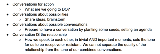Want more effective action? Start with dialogue.