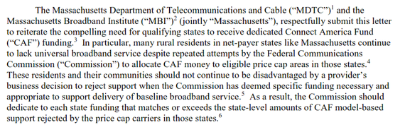 Billions in Cross-Subsidies Could Bring Fiber Optic Broadband to Massachusetts Cities--But Remain Unchallenged