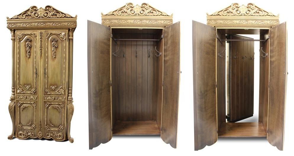Decorating to Hide Unsightly Doors: Create a Hidden Door