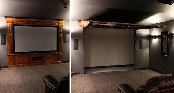 Decorating To Hide Unsightly Doors Create A Hidden Door