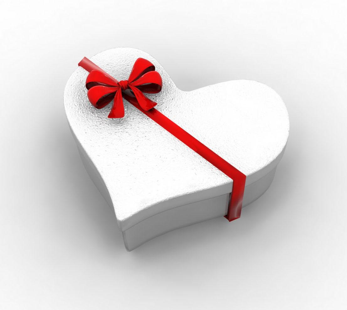 Хороший подарок на день святого валентина