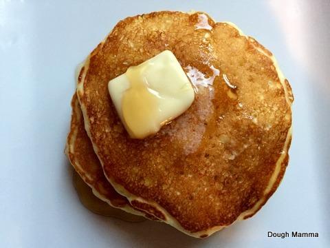 Mamma's Loving Lemon-Zest Pancakes
