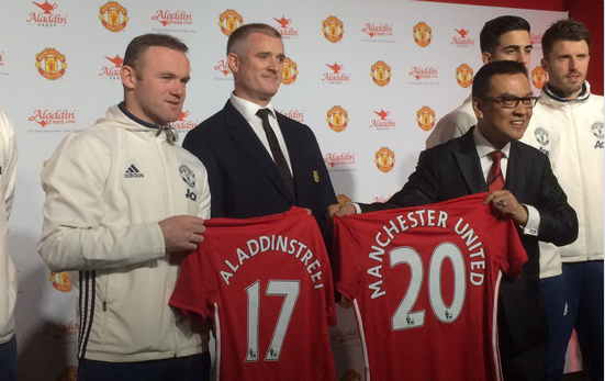 UK:  Manchester United Announce Deal With Halal Online Shopping Site