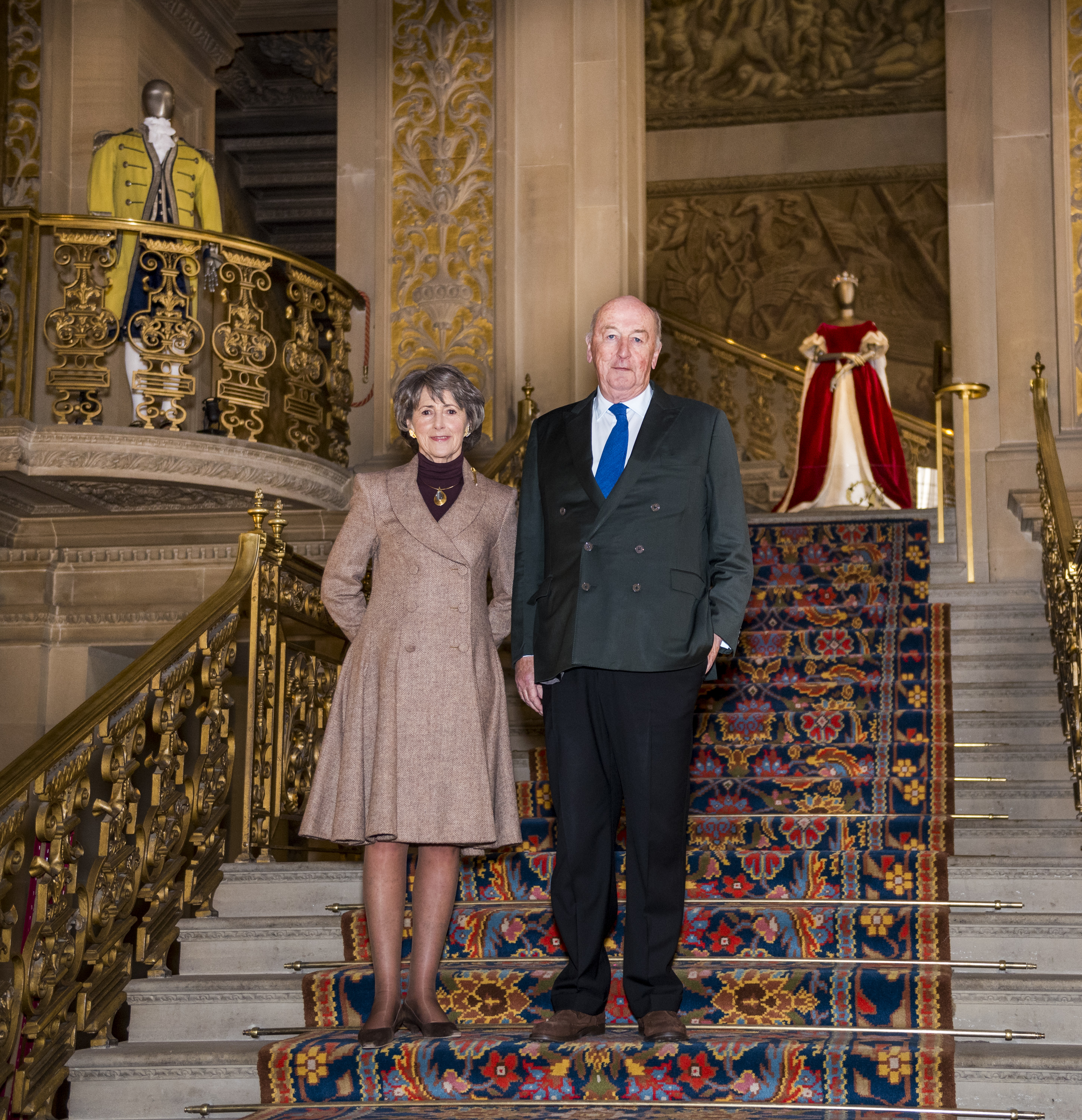 The duke and duchess of devonshire choose their favourite for The devonshire