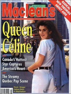 Macleans Magazine 1990queenceline1990.jpg