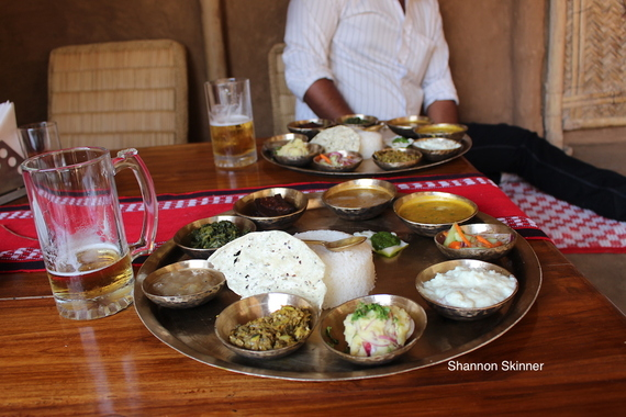 How to travel around the world as a vegetarian for Assamese cuisine