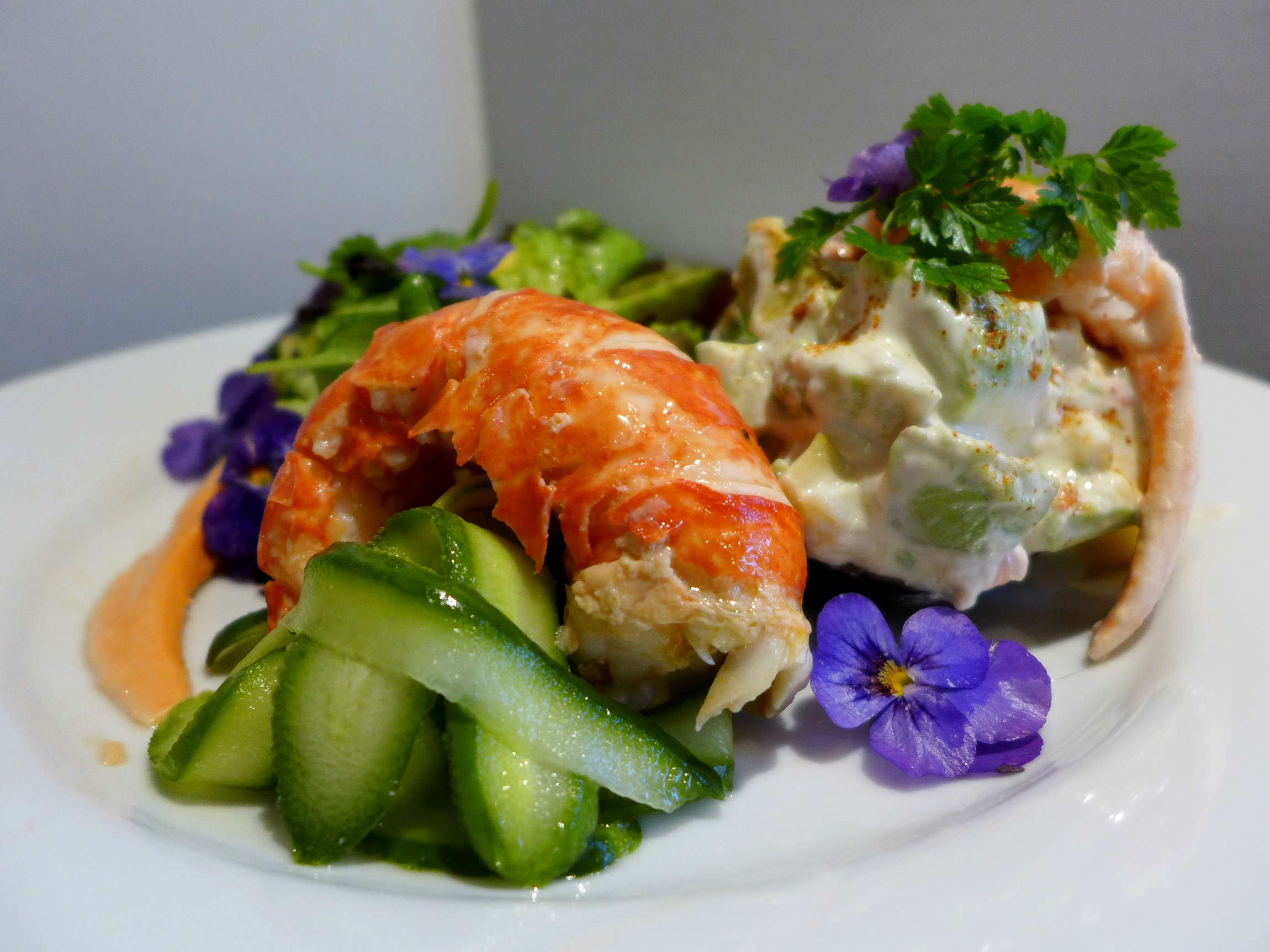Lobster Salad And The Kitchen Sink