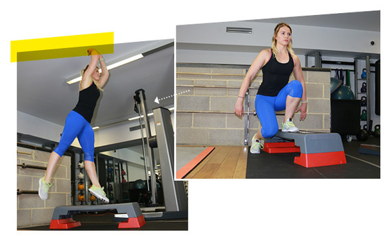 Rocket Jumps with Personal Trainer Michael Betts & TRAINFITNESS