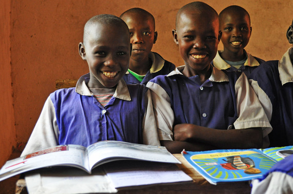 Pupils excited about reading