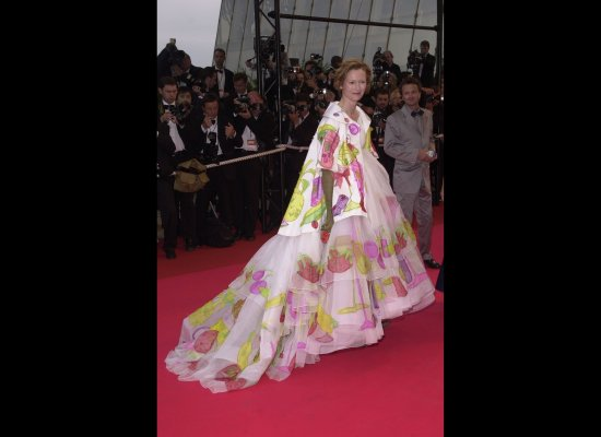 Fashion Trivia Quiz Tilda Swinton 39 S Fruit Dress Designer 39 90s Supermodel 39 S Fragrance And More