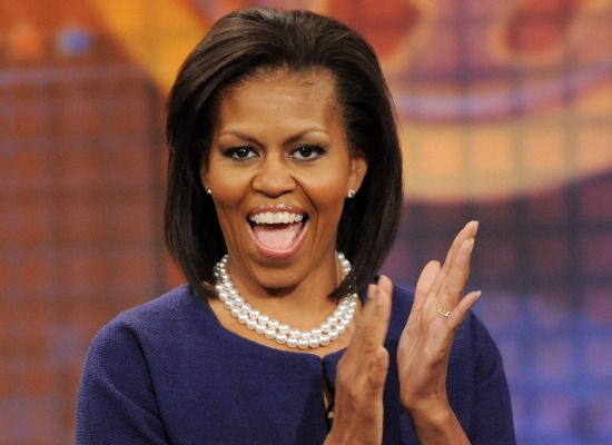 ugly michelle obama pictures. Michelle Obama is a fucking