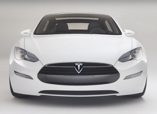 the Tesla Model S. It looks less futuristic and more like a car people