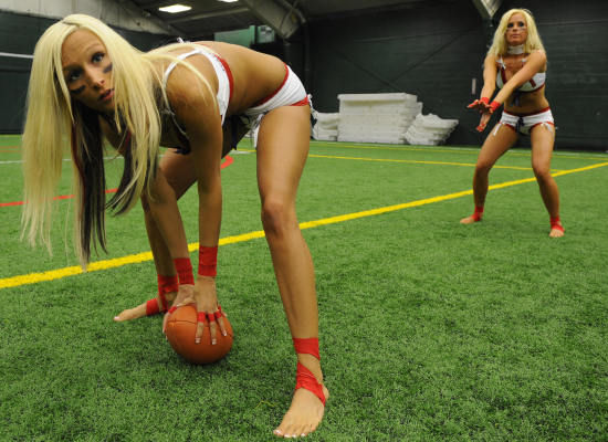 3067c7d205a Photos From The Lingerie Football League Tryouts « Dvorak News Blog