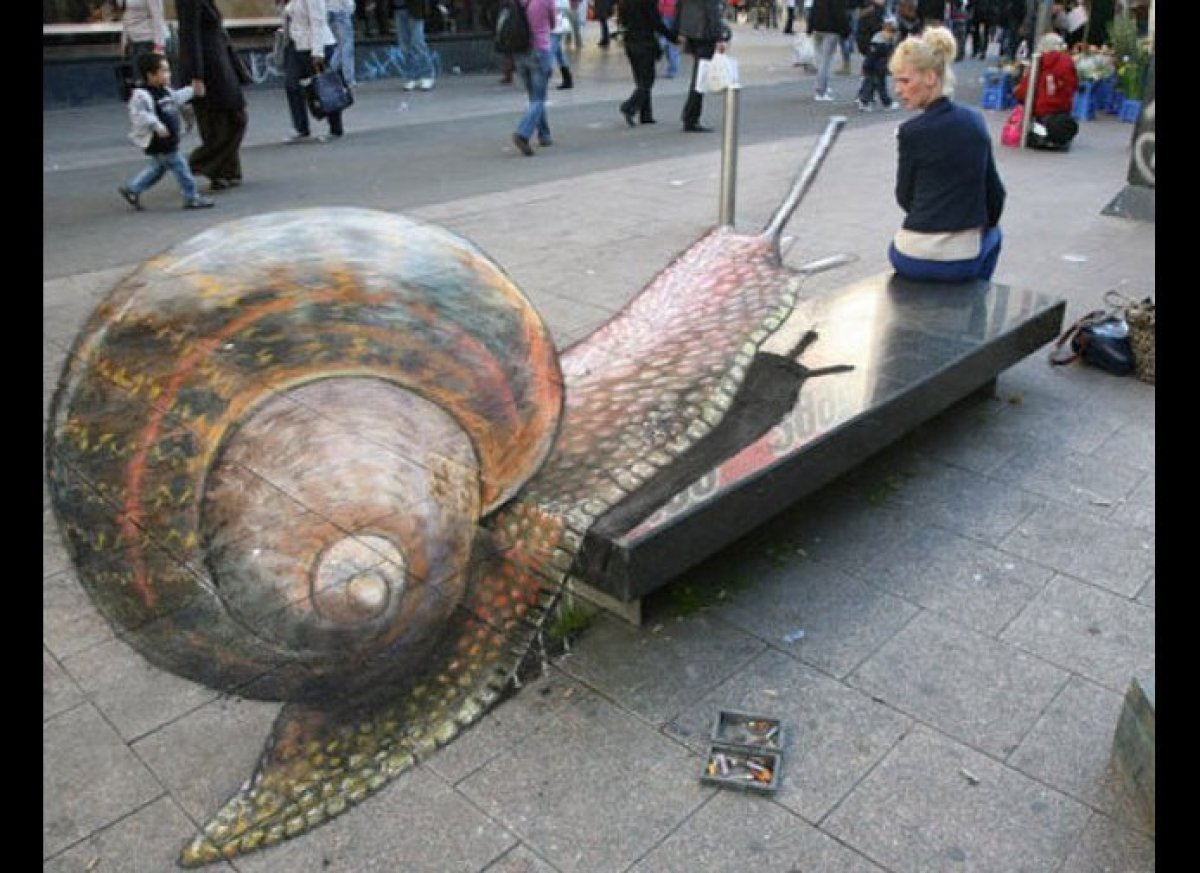 Giant Charging Snail