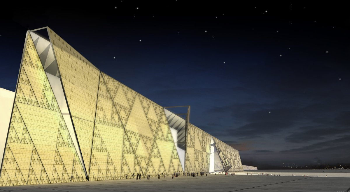 Biggest Archaeological Museum: The Grand Egyptian Museum, Giza, Egypt