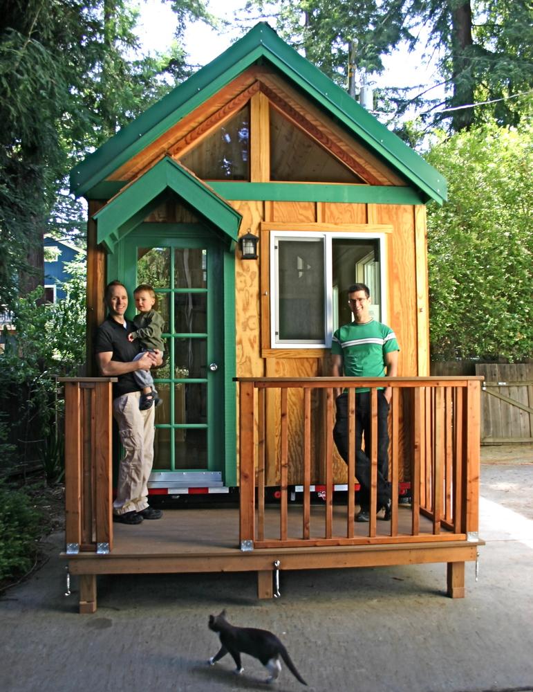 Des maisons en bois de plus en plus petites bulle immobili re - Petites maisons en bois ...
