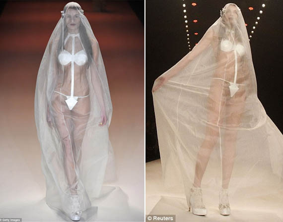 Inappropriate Wedding Dresses - FacenFacts