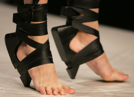 Shoes Steal The Shows: Spring 2009's Walk On The Wild Side (SLIDESHOW)