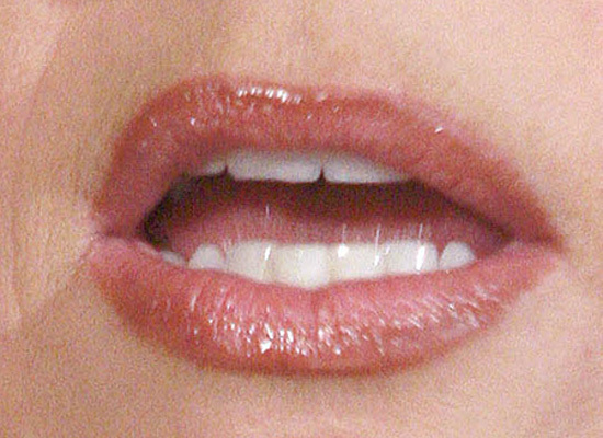 TATTOOED LIPS?