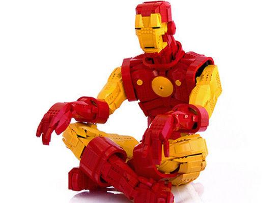 Как сделать из лего робота для человечков