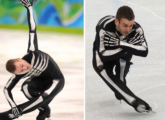 Kevin van der Perren skeleton skating outfit