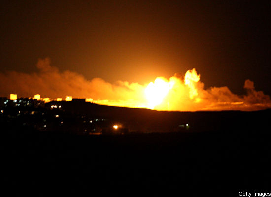 Izraeli bombardon Gazen