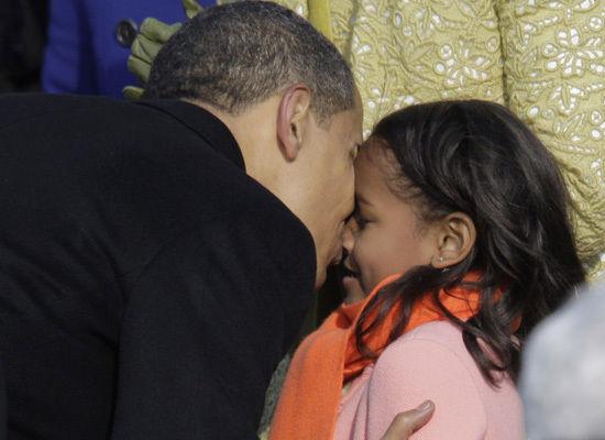 Obama e Sasha
