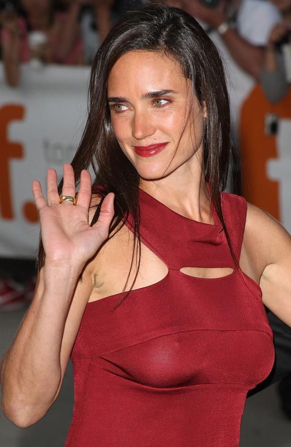 jennifer connelly red dress pictures