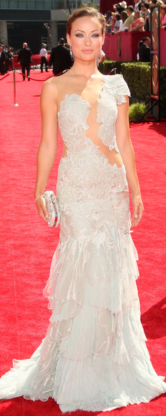 Olivia Wilde's Emmy Dress: Skin Is In! (PHOTOS)   HuffPost