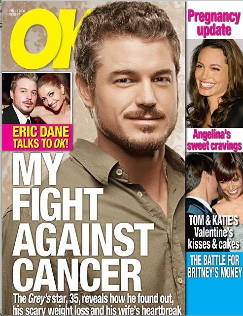 Eric Dane Weigh... Eric Dane Weight Loss Cancer