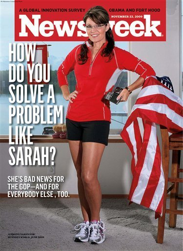 Sarah Palin Newsweek Cover Showing My Legs Quot Sexist