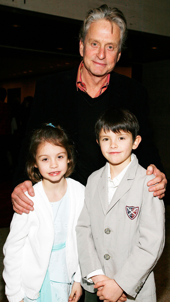 Michael Douglas And Linda Evangelista Show Off Their Kids (PHOTOS)