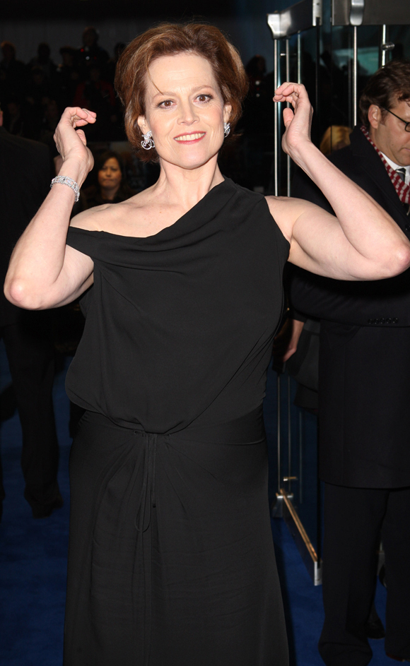Sigourney Weaver Shows Off Her Arms Photos Huffpost